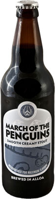 Das Bier March Of The Penguins Smooth Creamy Stout wird hier als Produktbild gezeigt.